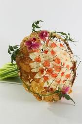 Букет невесты  - Золотое гинкго