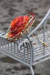 Букет невесты  - Гламелия из Французских Роз
