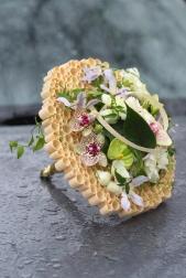 Букет невесты  - Круги на воде