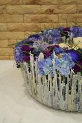 Подсвечник декоративный - Фиолетовое настроение