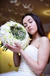 Букет невесты  - Свадебное облако
