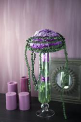 Букет из гвоздик - Цветочный бисер