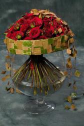 Букет из свежих роз - Время роз