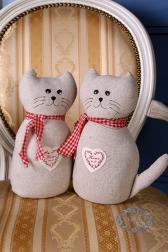 Декоративная игрушка - Кот Кантри
