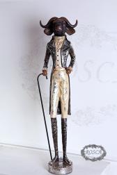 Декоративная статуэтка - Бык с тростью