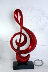 Декоративная статуэтка - Скрипичный ключ