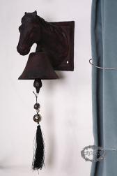 Декоративный колокол - Лошадь