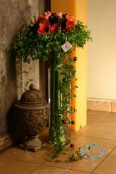 Букет композиция в вазе - Римский дворик
