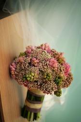 Букет невесты Свадебный букет стеблях - Сахарная вата