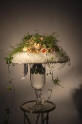 Букет из роз премиум сортов - Фатиновый шик