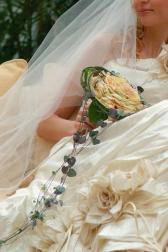 Букет невесты Гламелия из роз - Винтаж