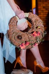 Букет невесты с орхидеями и жасмином - Кедровый лес