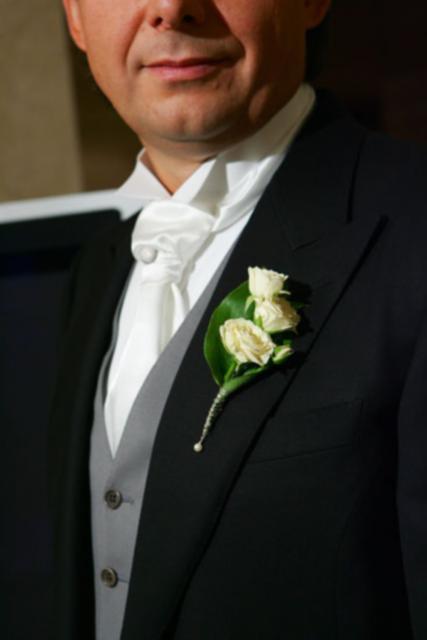 Букет невесты Бутоньерка жениха - Бутоньерка
