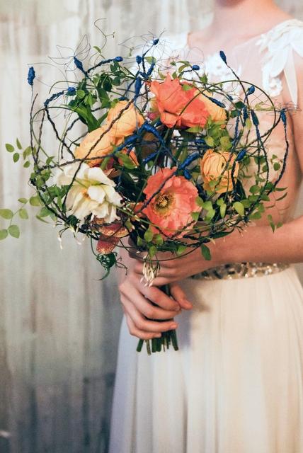 Букет невесты  - Райский сад