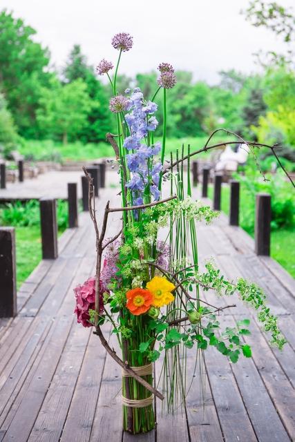 Букет  - Цветочный пейзаж