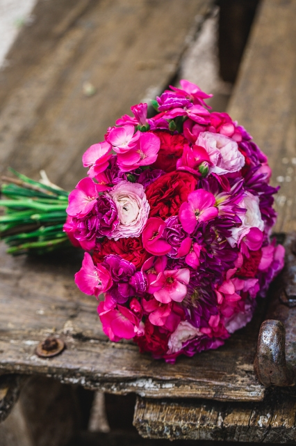 Букет невесты  - Чарующая страсть