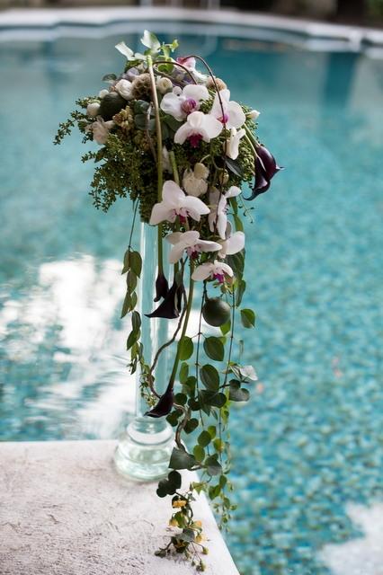 Букет невесты  - Мексиканский водопад
