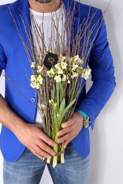 Букет с нарциссами - Весна