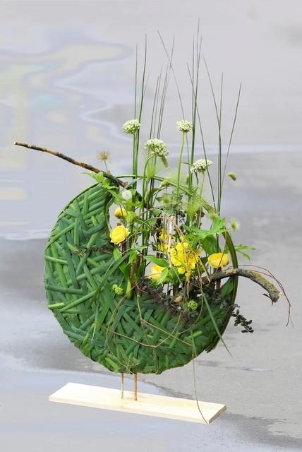 Композиция цветов  - Знойный июнь