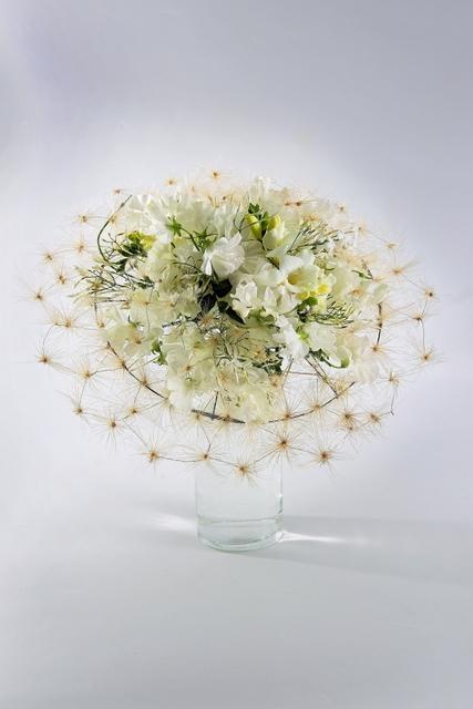 Букет невесты  - Белое облако