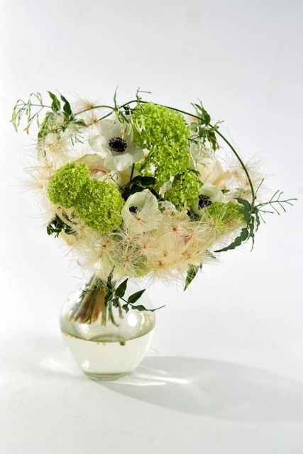 Букет невесты  - Воздушная чаша