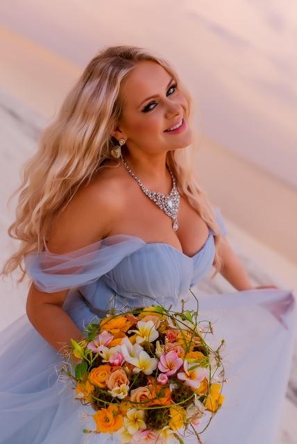 Букет невесты  - Экзотический остров