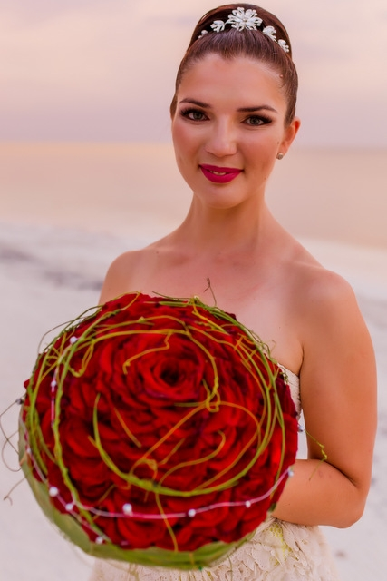 Букет невесты  - Мексиканская страсть