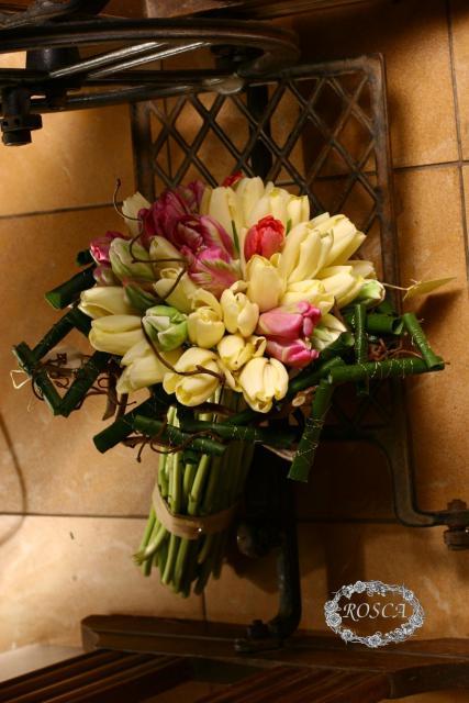 Букет из тюльпанов - Мысли в стиле ретро